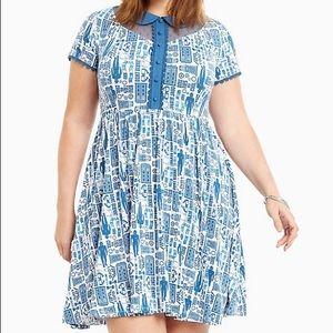 Torrid Doctor Who print Tardis Dress
